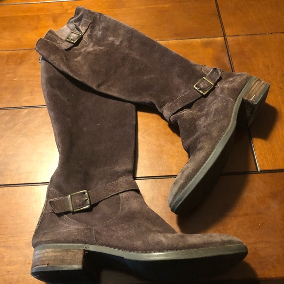 a104b1fc30f7 Sam Edelman Painter Suede Riding Boots. M 5bbf72964ab633d4210451ee